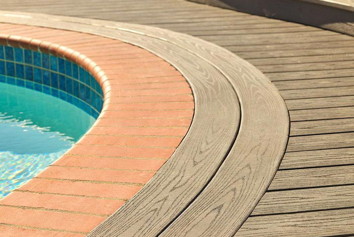 Pool Decking Example